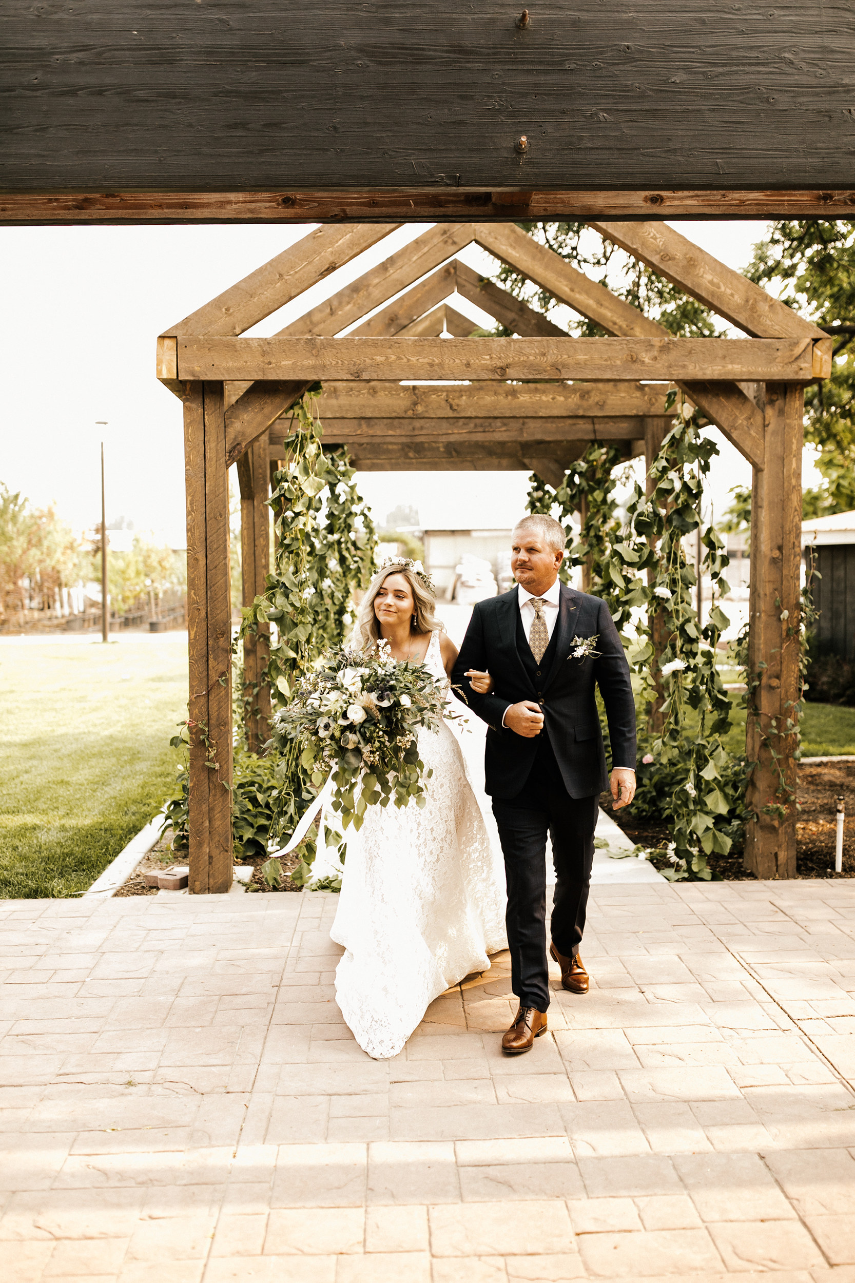 Married couple at Glasshouse Venues